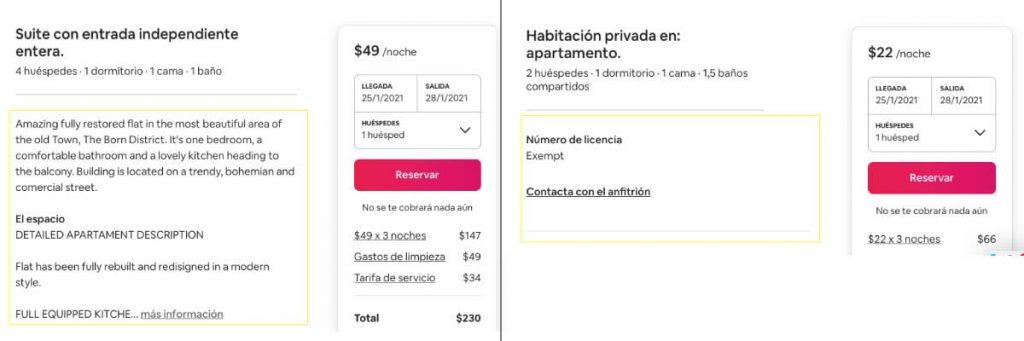 escribir una buena descripcion anuncio airbnb