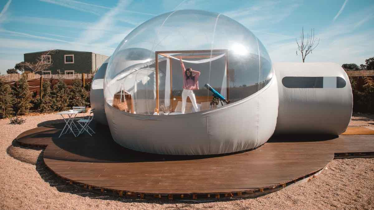 alojamiento burbuja airbnb españa
