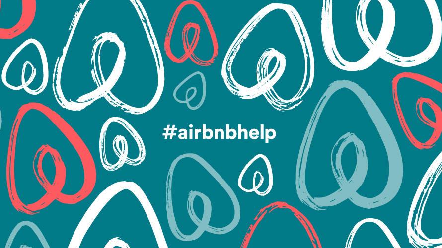 airbnb ayuda hashtag