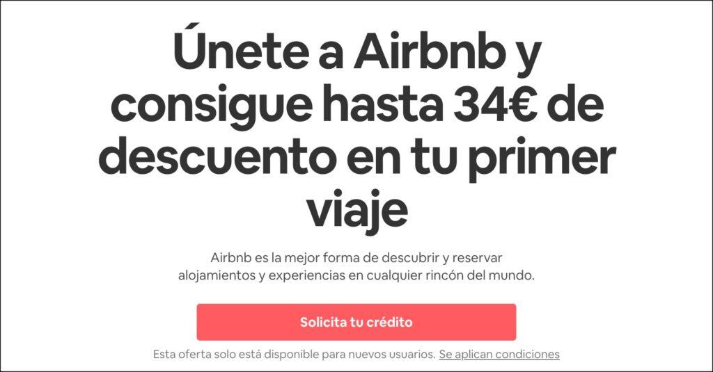 descuento para airbnb