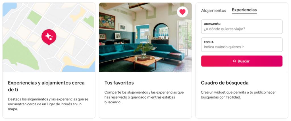 widget airbnb colaborador