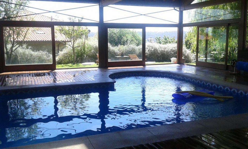 Alojamiento con piscina climatizada en Cantabria