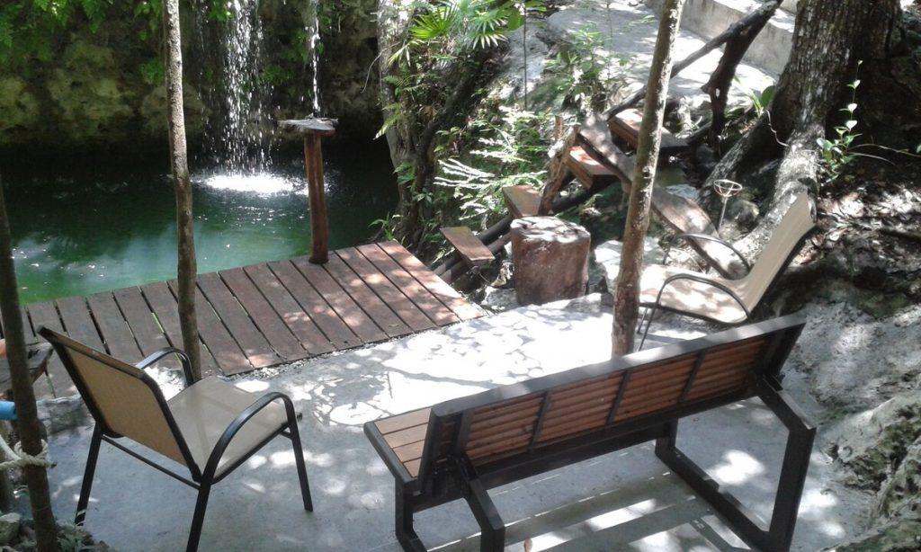 cenote privado en puerto morelos airbnb