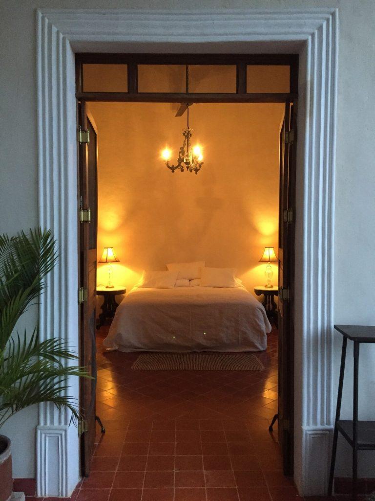 dormitorio de la hacienda airbnb