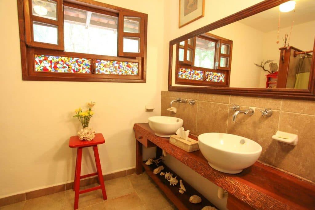 baño airbnb akumal
