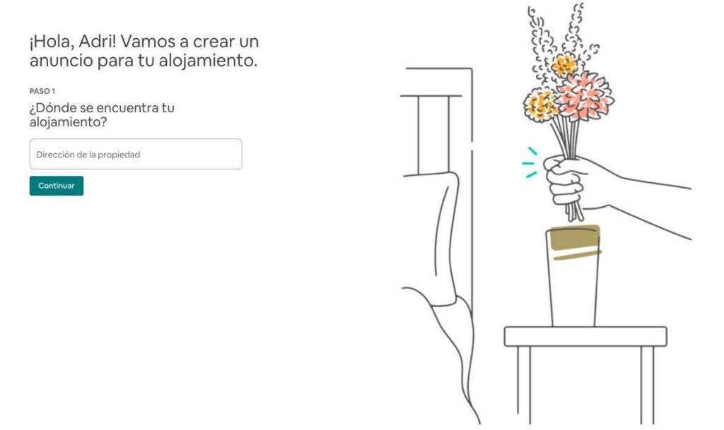 Configurar anuncio Airbnb